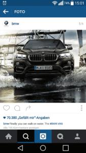 BMW auf Instagram